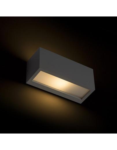Miljøbillede af Durant Up/Down i antrasitgrå udendørs væglampe Rendl