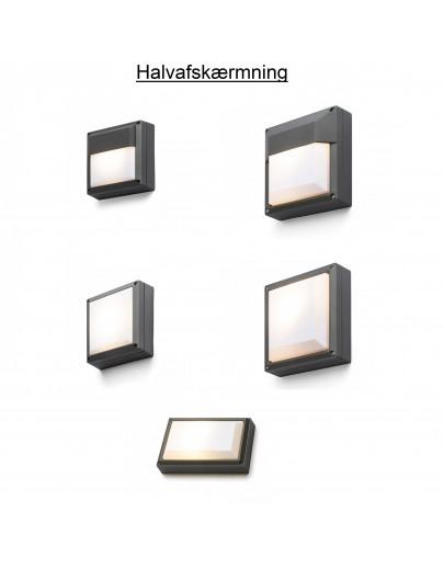 Miljøbillede af Delta 145 udendørs væglampe Rendl