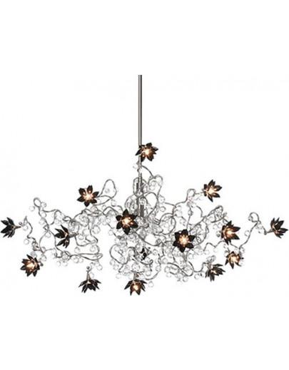 miljøbillede jewel diamond chandelier hl 12-15 pendel lysekrone harco loor